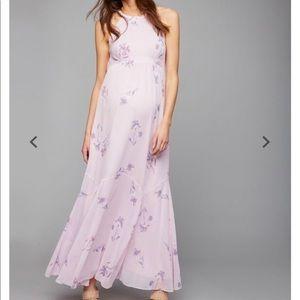 Pea in the Pod Maternity Maxi Dress